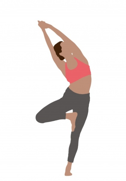 yoga-woman-tree-pose